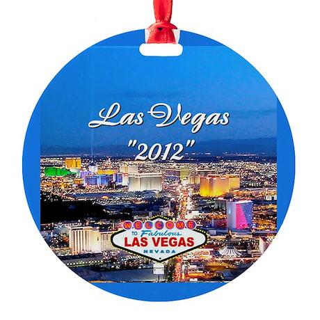 Las Vegas 2012 Ornament (Round)