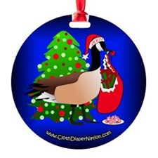 2009 CDN Holiday Ornament- 'Geese on Earth'