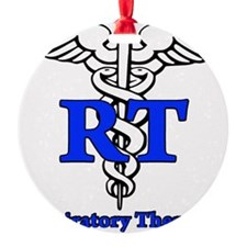 Respiratory Therapist Ornament (Round)