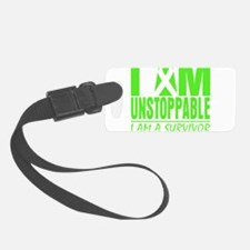 Unstoppable Lymphoma Luggage Tag