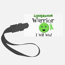 Lymphoma Warrior Luggage Tag