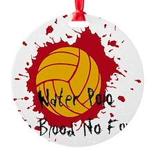 No Blood No Foul Ornament (Round)