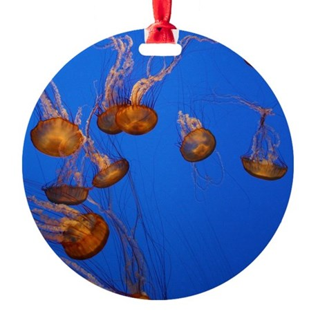 Jelly Fish Ornament (Round)