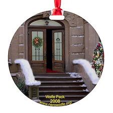 Nero Wolfe 2008 Brownstone Ornament (Round)