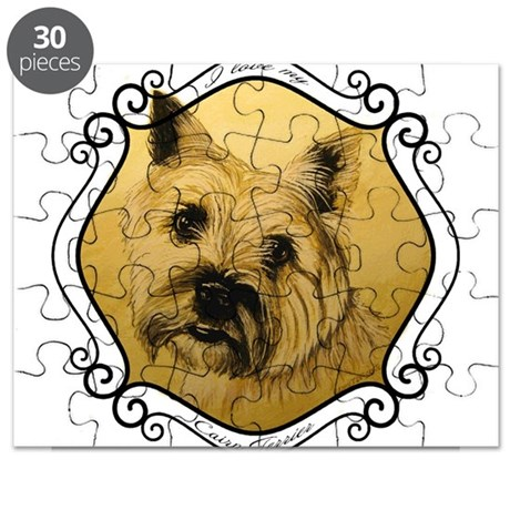 I Love My Cairn Terrier Puzzle
