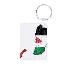 Palestine Flag And Map Keychains