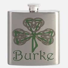 Burke Shamrock Flask