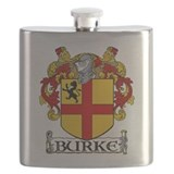 Burke family crest Flasks