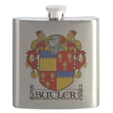 Butler Coat of Arms Flask