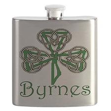 Byrnes Shamrock Flask