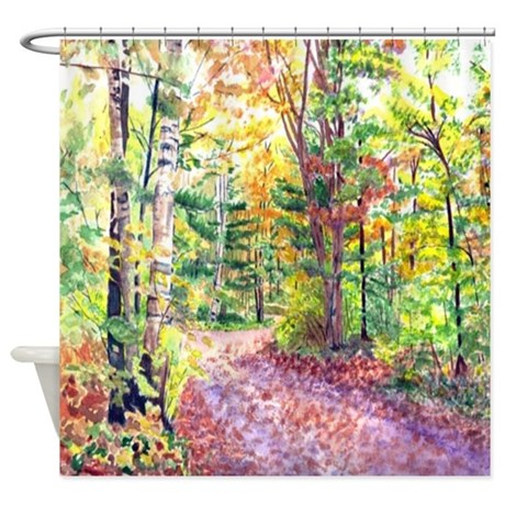 Fall Foliage Shower Curtain By YvonneCarter