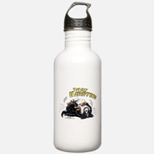 Bernese Mountain Dog Hairifying Water Bottle