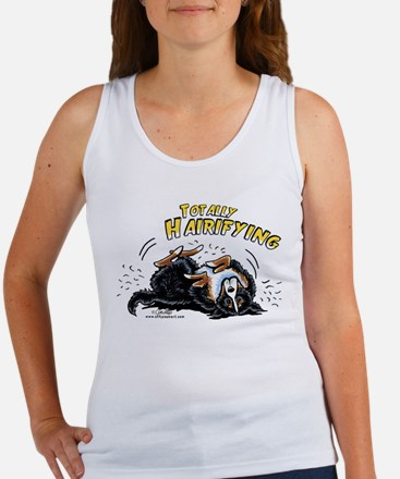 Bernese Mountain Dog Hairifying Women's Tank Top
