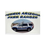 Peoria Ranger Rectangle Magnet (100 pack)