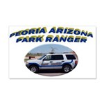 Peoria Ranger 20x12 Wall Decal