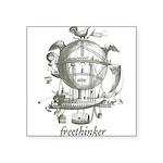 Freethinker Square Sticker 3