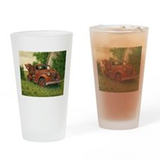Lets Go Cinnamon Bear Drinking Glass