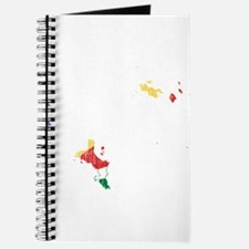 Seychelles Flag And Map Journal