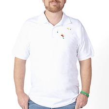 Seychelles Flag And Map T-Shirt