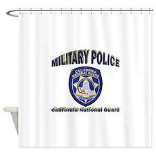 California National Guard MP Shower Curtain