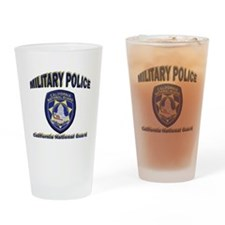 California National Guard MP Drinking Glass