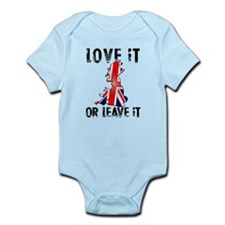 LOVE IT OR LEAVE IT V1.png Infant Bodysuit