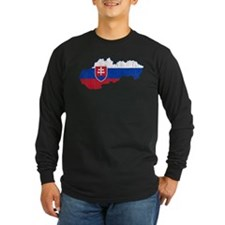 Slovakia Flag And Map T