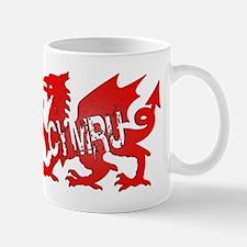 CYMRU DRAGON RED PLASTIC BLACK SHADOW.png Mug