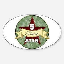 Cute 5 star Decal