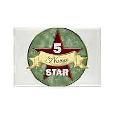 Cute 5 stars Rectangle Magnet