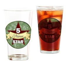 Cute 5 star Drinking Glass