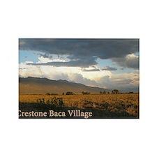 Crestone Baca Village Rectangle Magnet
