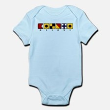 Nautical Biloxi Infant Bodysuit