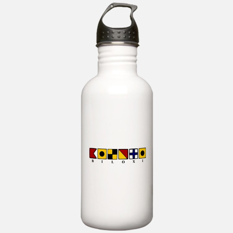 Nautical Biloxi Water Bottle