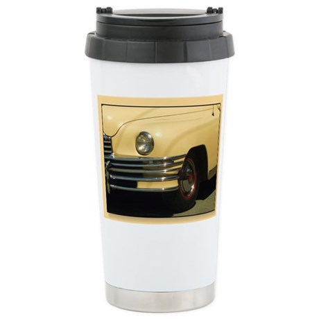 Classic Yellow Car Stainless Steel Travel Mug