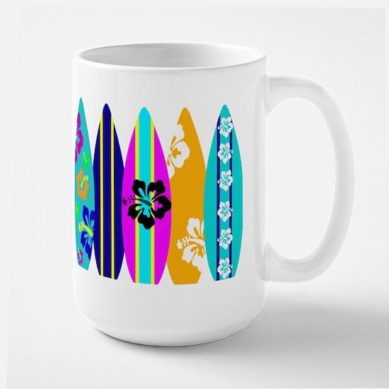Surfboards Large Mug
