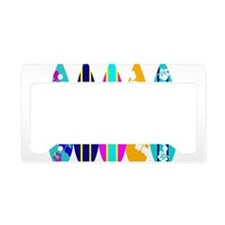 Surfboards License Plate Holder