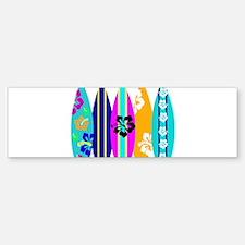 Surfboards Bumper Bumper Sticker