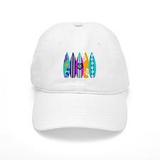 Surfboards Baseball Baseball Cap