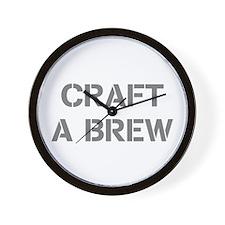 Craft A Brew Wall Clock