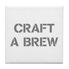 Craft A Brew Tile Coaster