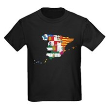 Spain Subdivisions Flag And Map T