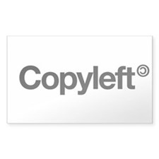 Copyleft Decal
