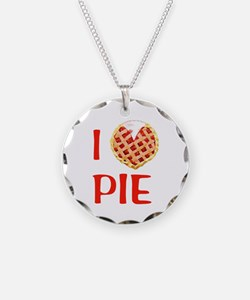 I Love Pie Necklace