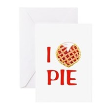I Love Pie Greeting Cards (Pk of 20)