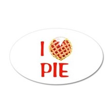 I Love Pie Wall Decal