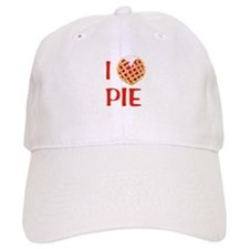 I Love Pie Baseball Cap