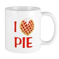 I Love Pie Small Mugs