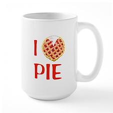 I Love Pie Ceramic Mugs