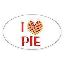 I Love Pie Decal